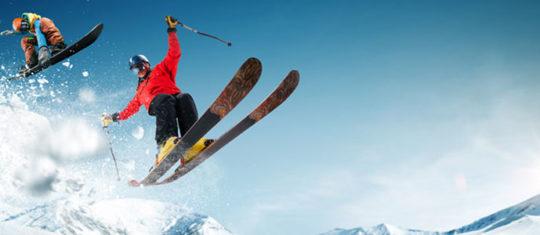 Sport-de-neige-à-la-montagne