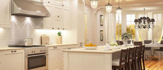 Aménagement de cuisine  salle à manger
