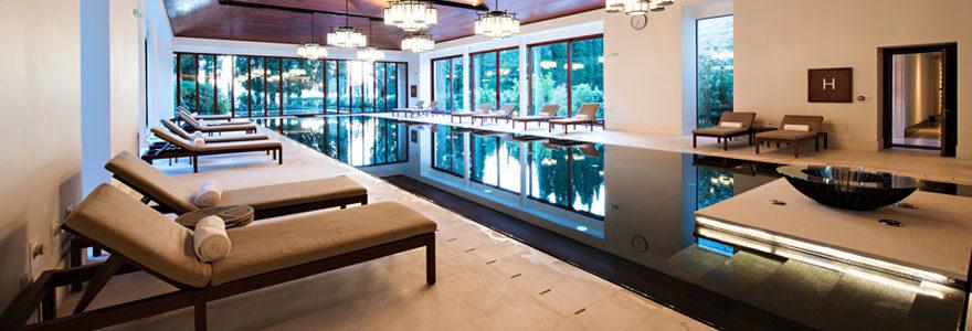 hôtel avec piscine chauffée